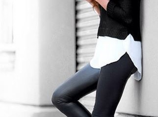 Black and White Outfit for Teens 20