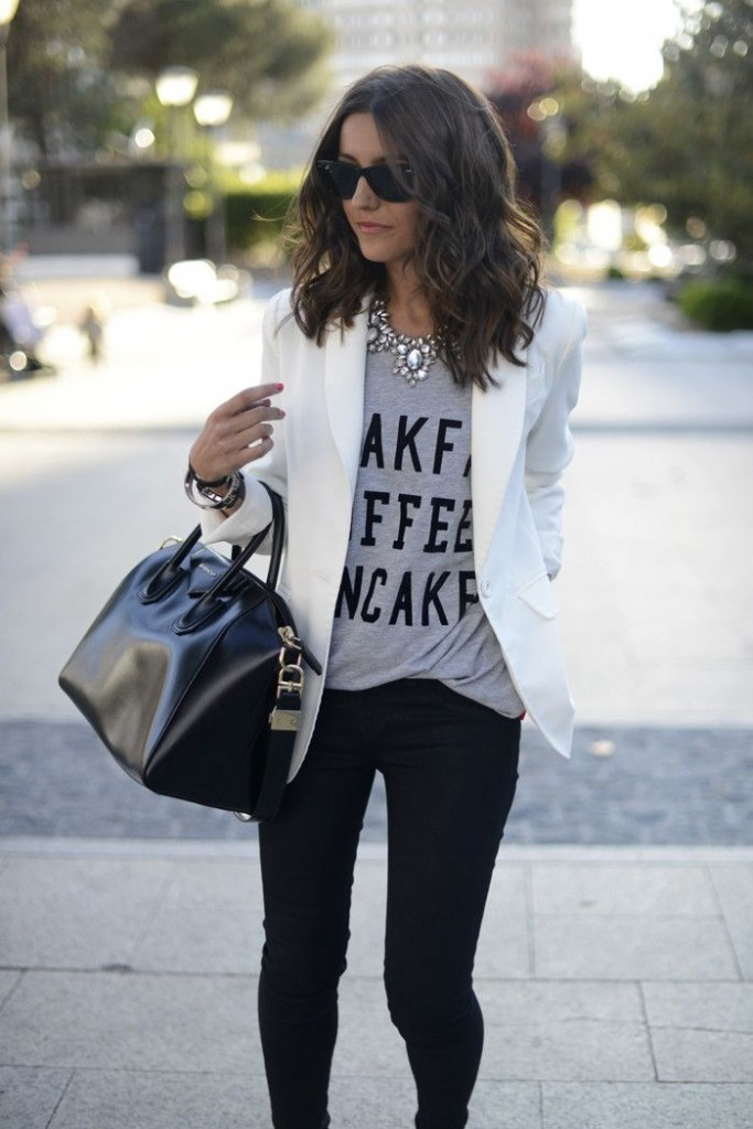 Black and White Outfit for Teens 4