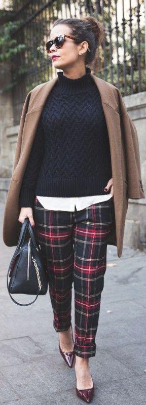 Plaid Outfits 1
