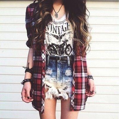 Plaid Outfits 10