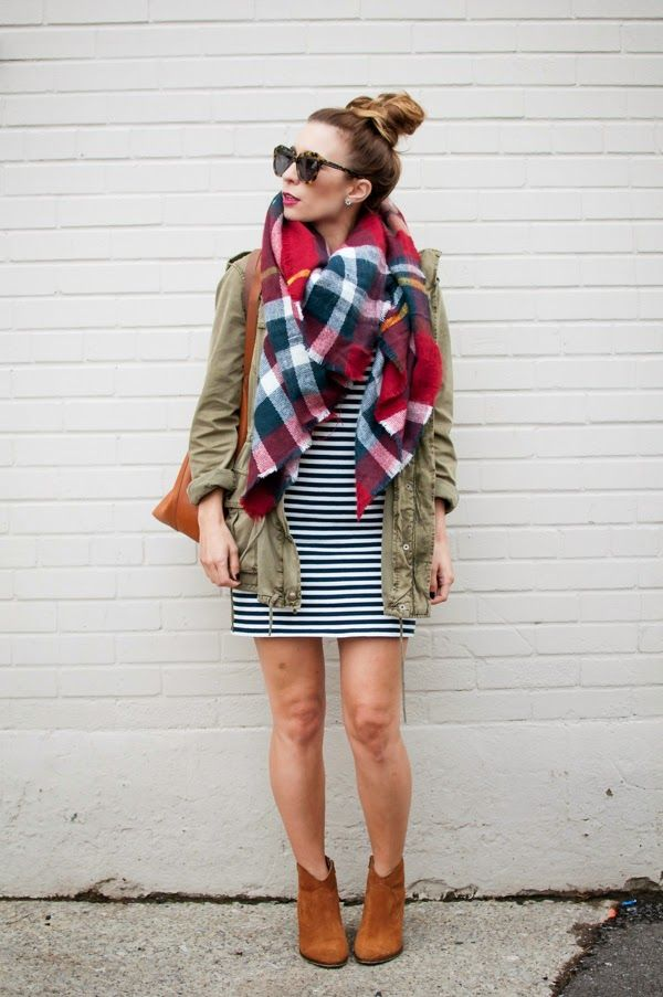 3ab222987b 10 Ways to Rock Winter Fall with Plaid Outfits - Outfit Ideas HQ