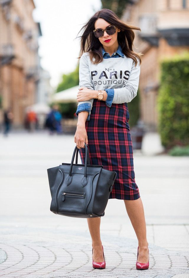 Plaid Outfits 7