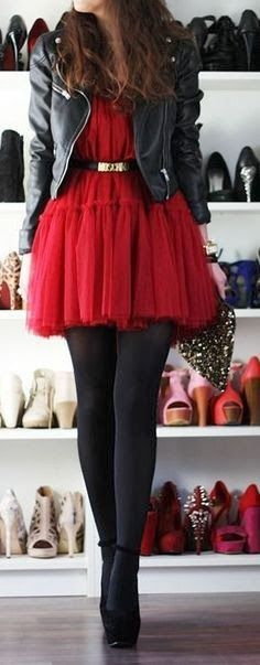 Red Outfits for Christmas 15