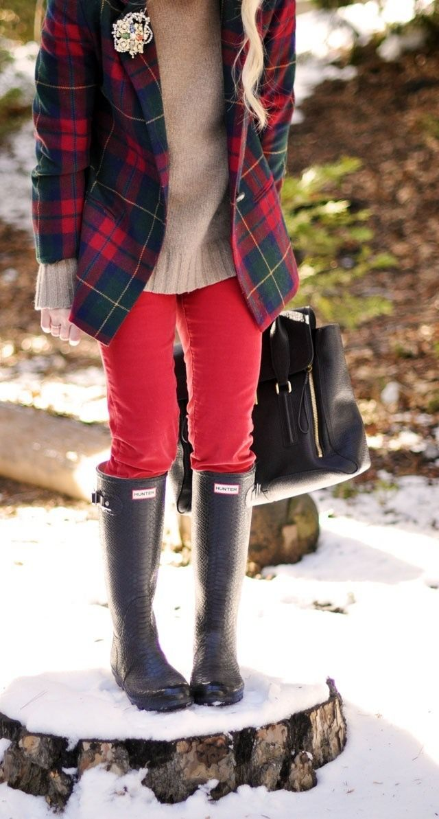 Red Outfits for Christmas 18 - 27 Red Outfits Will Dominate Your Christmas - Outfit Ideas HQ