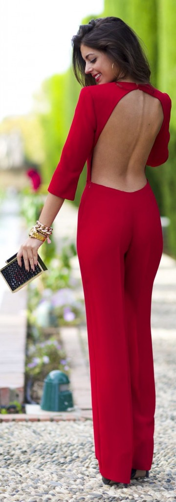 Red Outfits for Christmas 22