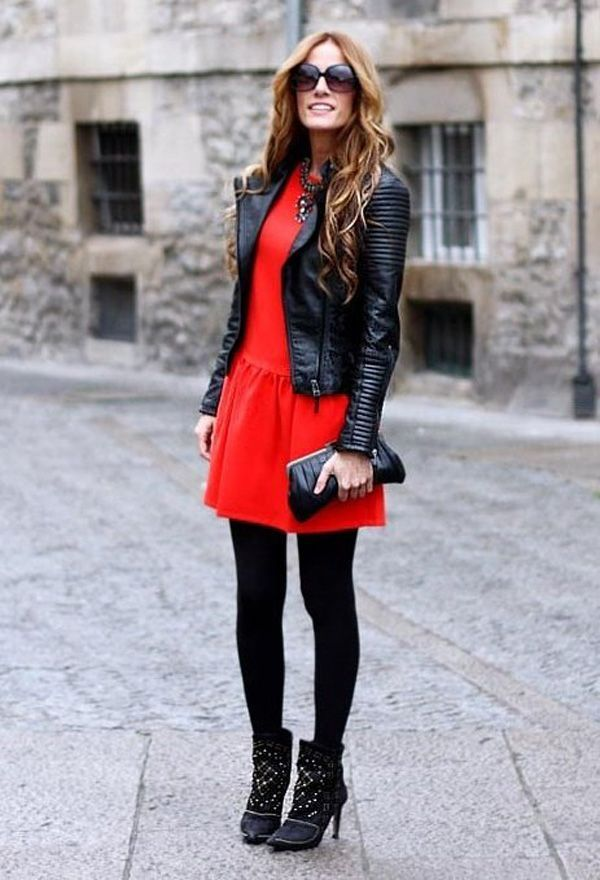 Red Outfits for Christmas 24 - 27 Red Outfits Will Dominate Your Christmas - Outfit Ideas HQ