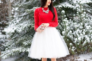 Red Outfits for Christmas 26