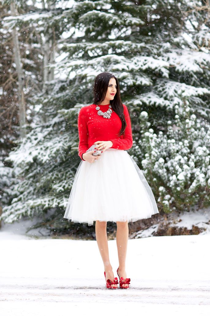 29777caf4dfdc 27 Red Outfits Will Dominate Your Christmas - Outfit Ideas HQ