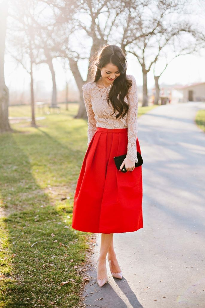 Red Outfits for Christmas 27 - 27 Red Outfits Will Dominate Your Christmas - Outfit Ideas HQ