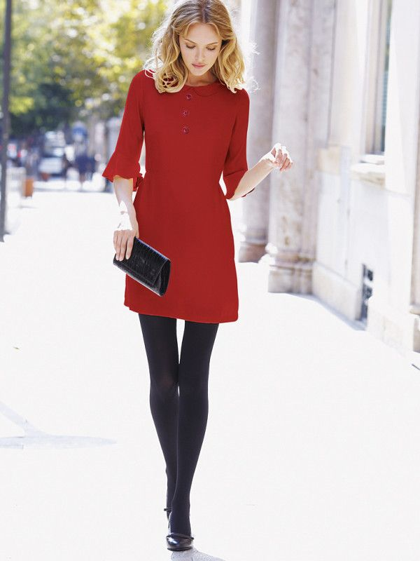 27 Red Outfits Will Dominate Your Christmas - Outfit Ideas HQ
