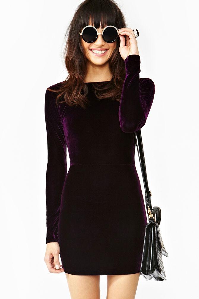 Velvet Dress Ideas 2