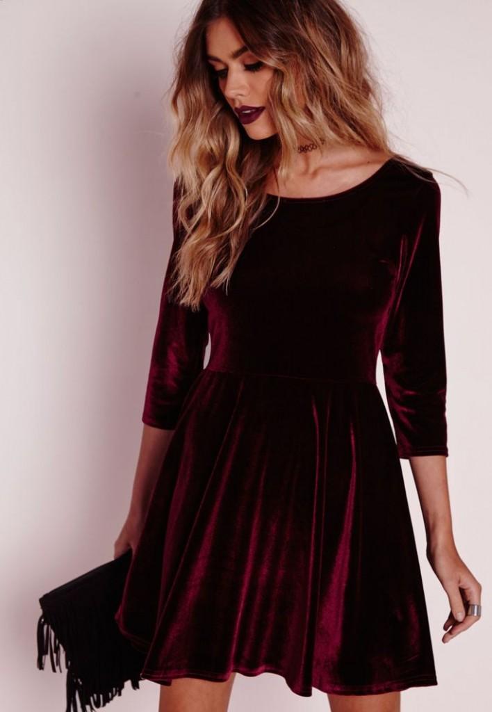 Velvet Dress Ideas 5