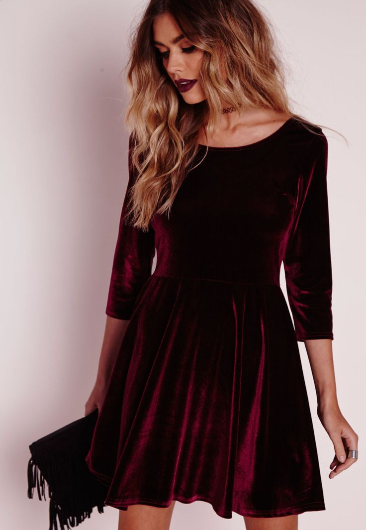 Perfect Velvet Dress Ideas for Holiday Night Outs