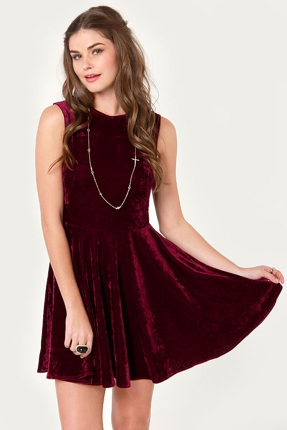 Velvet Dress Ideas 6