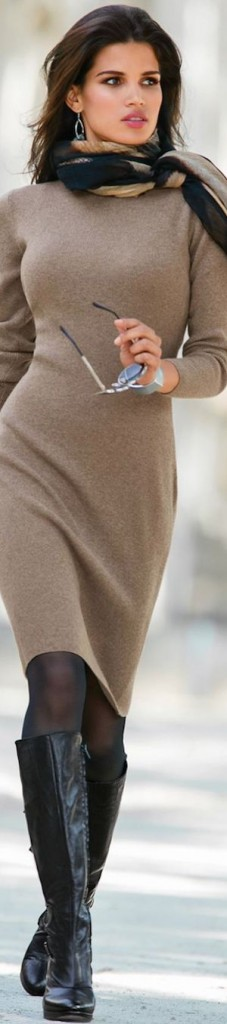 knitwear outfit 5