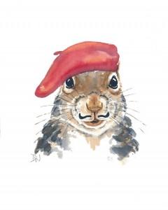 squirrel beret