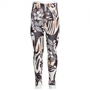leggings with bold print
