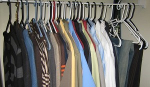 hang clothes