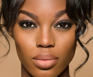 makeup on dark skin