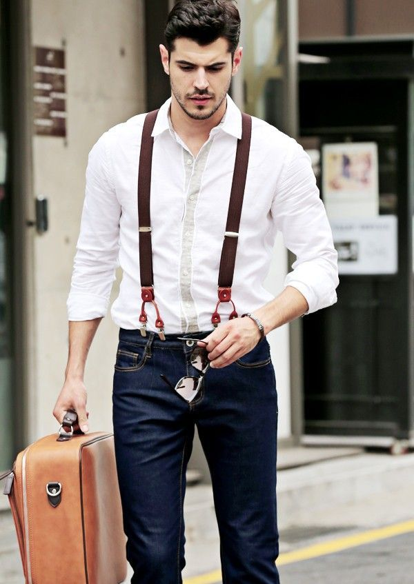 How To Choose Suspenders And When To Wear Them Outfit