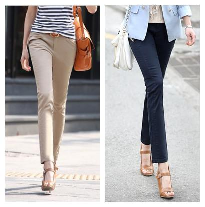 How To Wear Ankle Length Pants - Outfit Ideas HQ