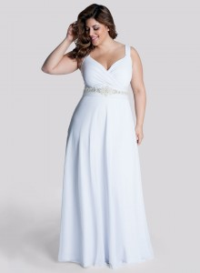 plus size white spring dresses