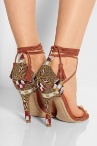 sandals with unusual heels