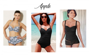 swimsuits for apple body shapes