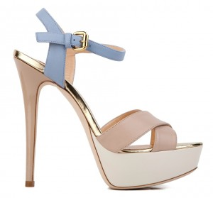 sandals with stiletto heel