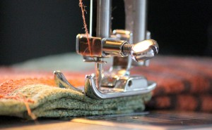 sewing machine foot yarn sew
