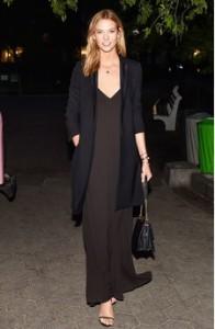 slip dress with blazer