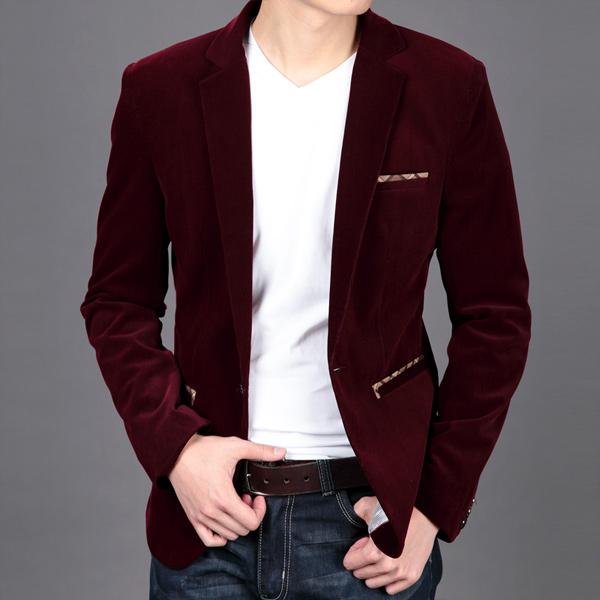Mens maroon blazer outfit ideas