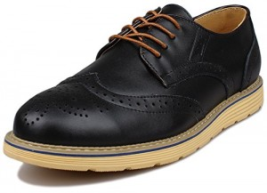 kunsto leather brogue oxford shoe