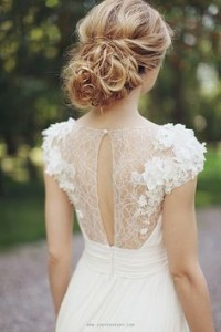 delicate dress with lace