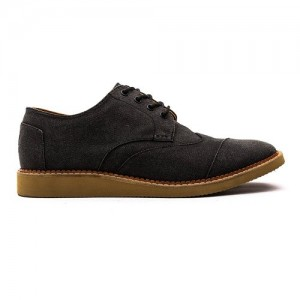 toms men's brogue casual shoe