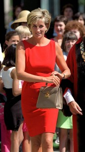 princess diana red dress
