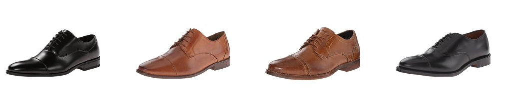 cap toe style oxford shoes