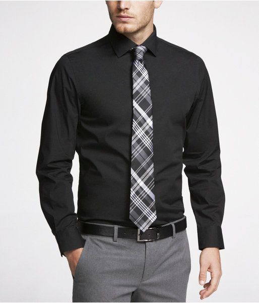graduation outfit idea for guys black