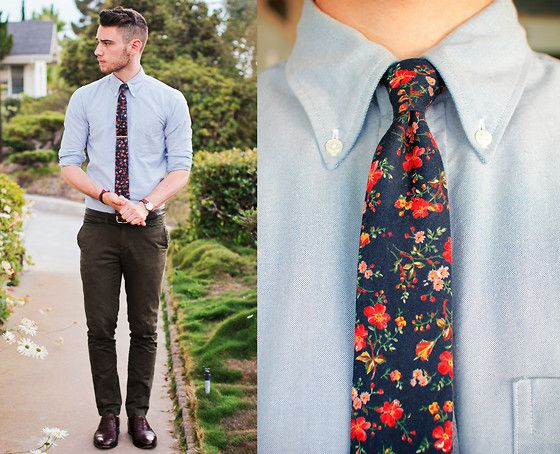 graduation outfit idea for guys flower tie