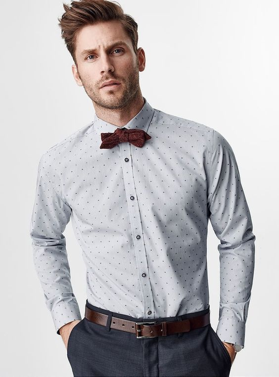 Top 30 best graduation outfits for guys outfit ideas hq for Baby shirt and bow tie