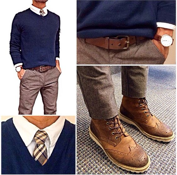 Graduation Outfit Ideas For Guys Winter With Sweater Vest