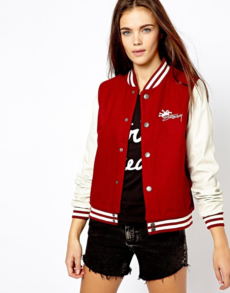 Find women's baseball jacket at ShopStyle. Shop the latest collection of women's baseball jacket from the most popular stores - all in one place.