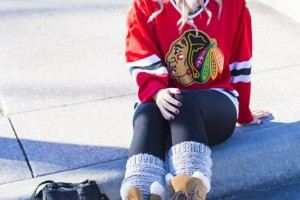 what to wear to a hockey game 1 black hawks