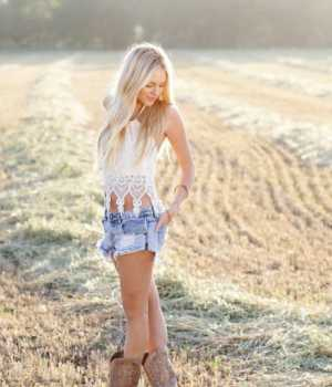 tank top at the country music concert