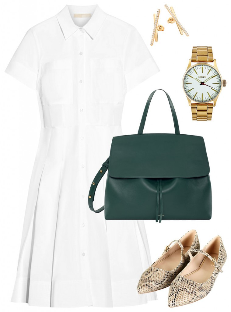 shirtdress for the summer job interview