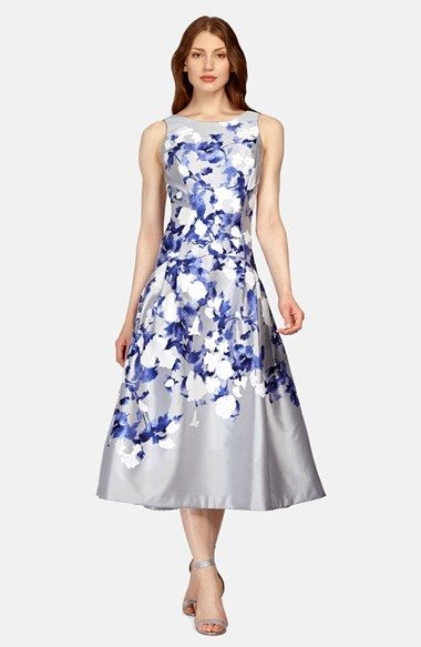 floral frock for the race day