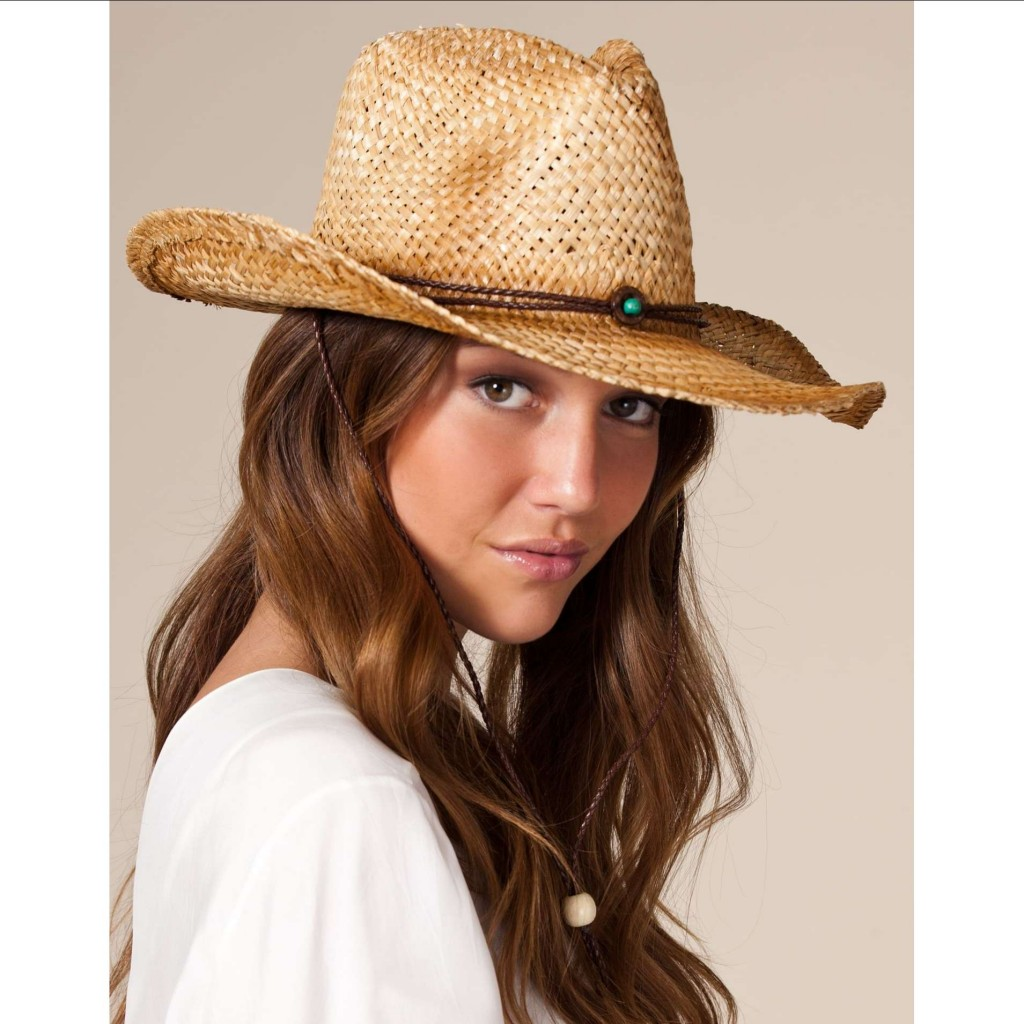 hat at the country music concert