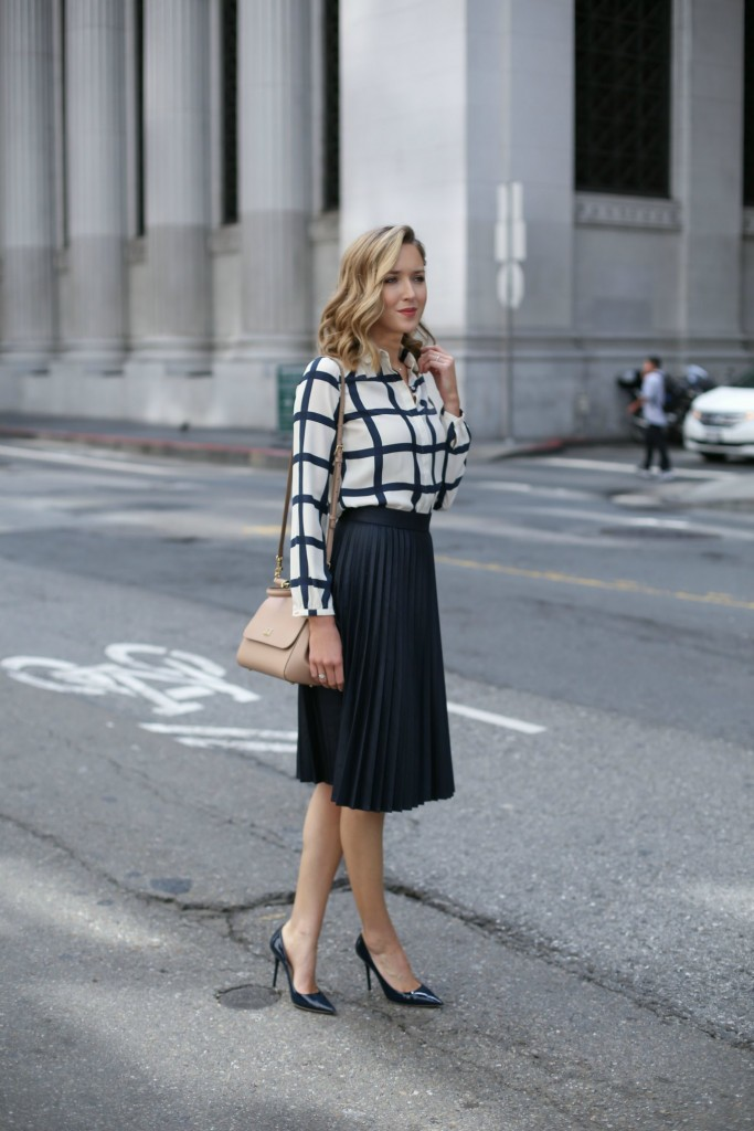 midi skirt for the summer job interview