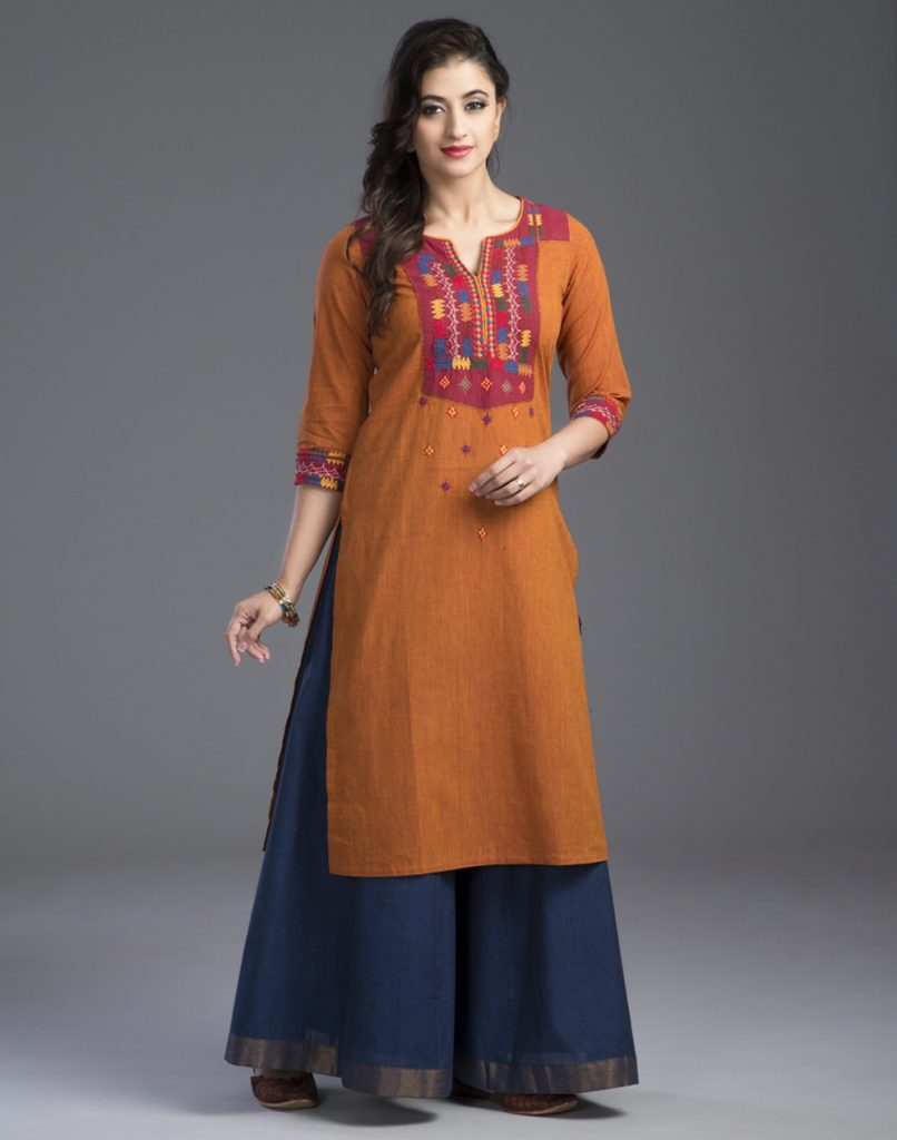 kurtas with palazzos & shararas