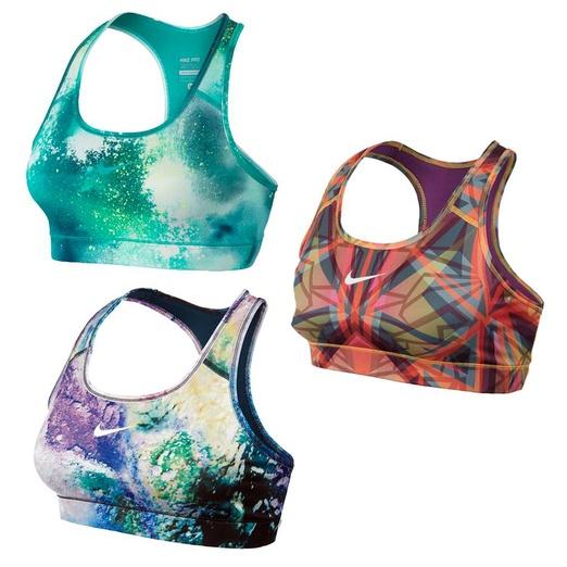printed sports bra